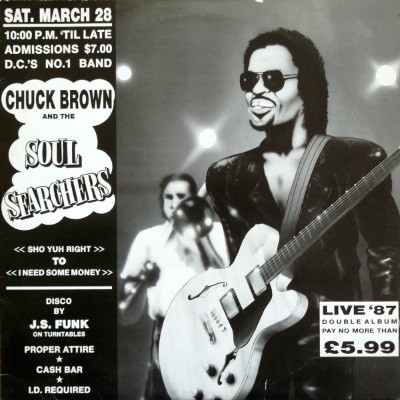 Chuck Brown & the history of go-go
