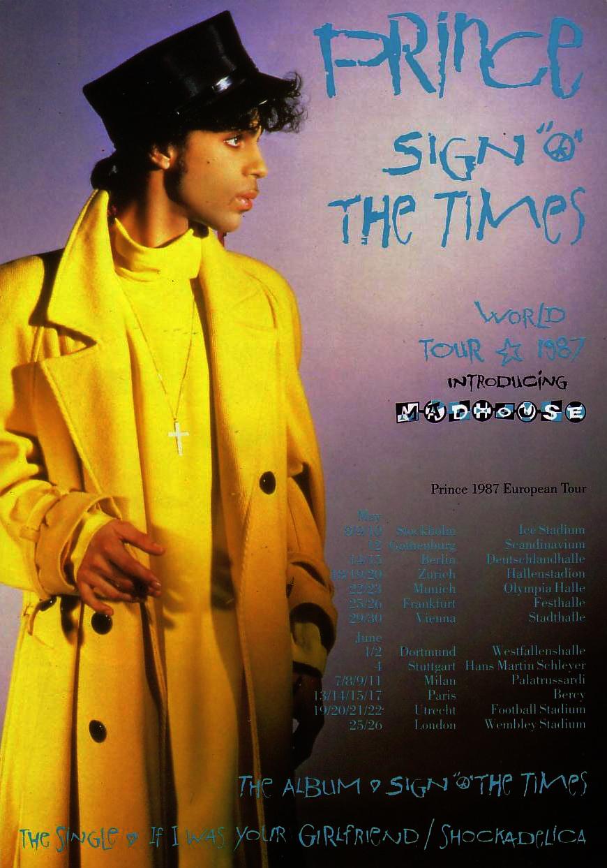 Prince 21-06-1987 SOTT Tour announcement (source unknown)