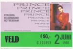 Prince 02-06-1990 concertkaartje (apoplife.nl)