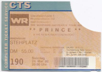 19920524 Prince & The NPG