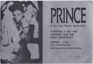 19920704 Prince & The NPG