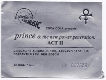 19930810 Prince & The NPG