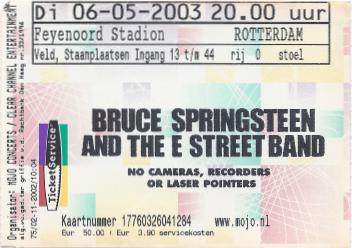 20030506 Bruce Springsteen