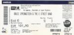 Bruce Springsteen 27-05-2012 concertkaartje (apoplife.nl)
