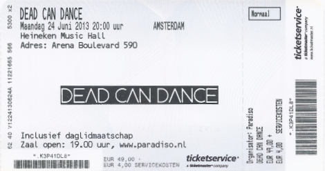 20130624 Dead Can Dance
