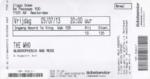 The Who 05-07-2013 concertkaartje (apoplife.nl)