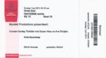 Sezen Aksu 01-06-2014 concertkaartje (apoplife.nl)