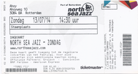 20140713 North Sea Jazz