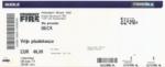 Beck 08-09-2014 concertkaartje (apoplife.nl)
