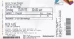 Nick Cave 17-05-2015 concertkaartje (apoplife.nl)