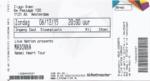 Madonna 06-12-2015 concertkaartje (apoplife.nl)