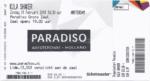 Kula Shaker 21-02-2016 concertkaartje (apoplife.nl)
