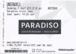 Underworld 31-03-2016 concertkaartje (apoplife.nl)