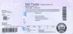 Neil Young 24-06-2016 concertkaartje (apoplife.nl)