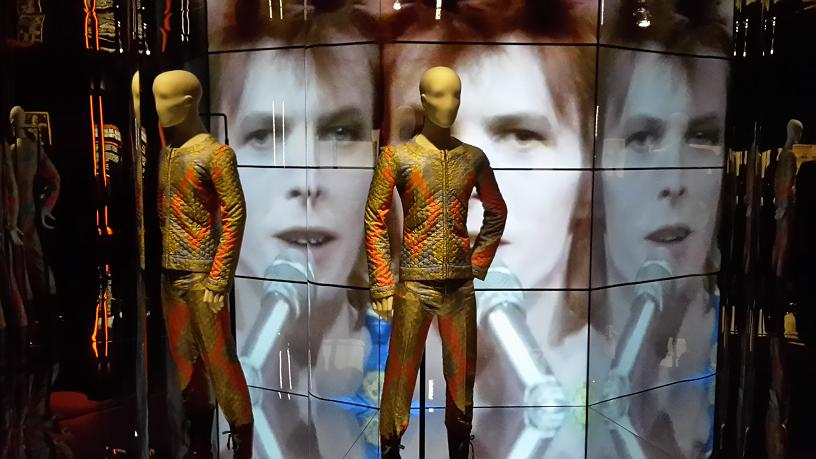 David Bowie Is Starman suit