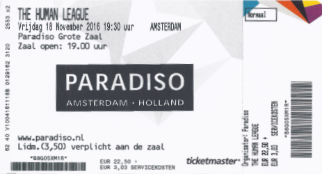 The Human League 18-11-2016 (apoplife.nl)