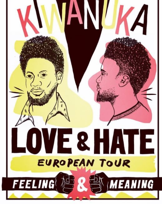 Michael Kiwanuka 25-11-2016 tour advertentie (onbekend)