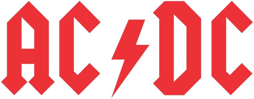 AC/DC logo (pinterest.com)