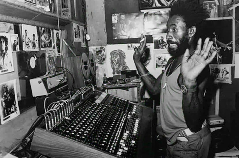 "Lee ""Scratch"" Perry in Black Ark Studios (merchantstavern.co.uk)"