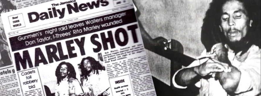 Bob Marley neergeschoten (elevenwarriors.com)