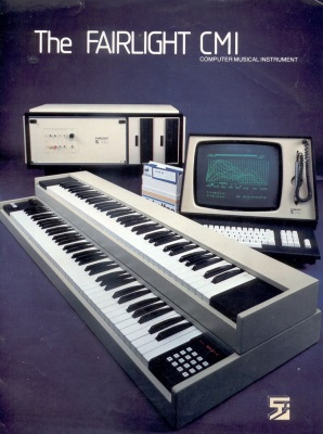 Fairlight CMI digital sampler (pinterest.com)