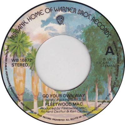 Fleetwood Mac - Go Your Own Way (label) (45cat.com)