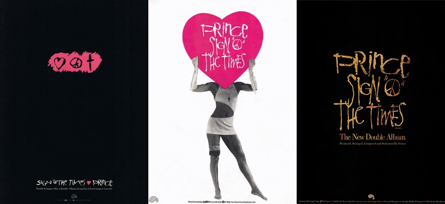 Prince - Sign O' The Times advertenties (princevault.com/apoplife.nl)