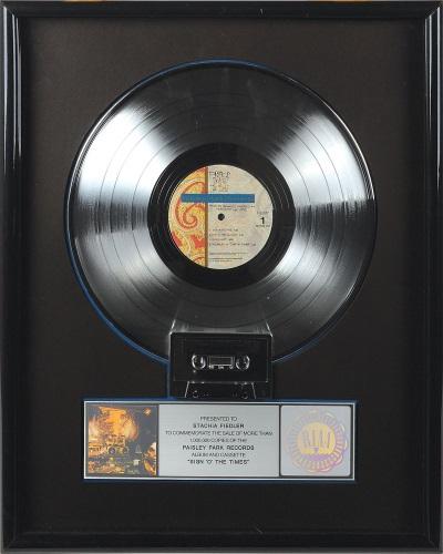 Prince - Sign O' The Times platinum award (rrauction.com)
