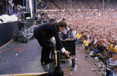 U2 - Live Aid (Dave Hogan/Hulton Archive/Getty Images)