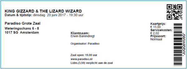 King Gizzard & The Lizard Wizard 20-06-2017 (apoplife.nl)