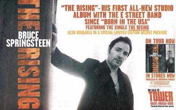 Bruce Springsteen - The Rising advertentie (therisingcollection.com)