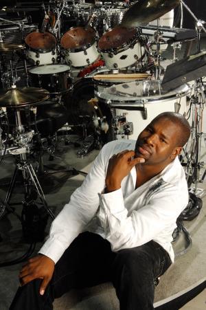 John Blackwell posing (drummerworld.com)