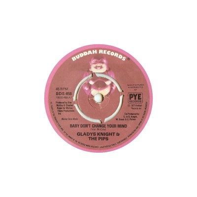 Glady Knight & The Pips - Baby Don't Change Your Mind (45cat.com)