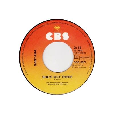 Santana - She's Not There (45cat.com)