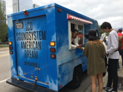 LCD Soundsystem - Ice-cream truck at Lollapalooza Festival 2017 (brooklynvegan.com)