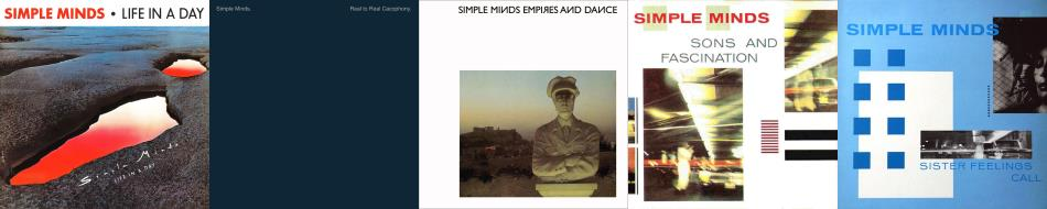 Simple Minds - First five albums (simpleminds.com)