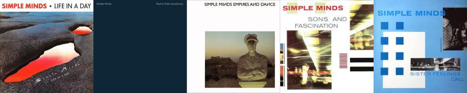 Simple Minds - First five albums (simpleminds.com)