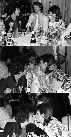 Lou Reed, Mick Jagger & David Bowie 1973 (thatericalper.com)
