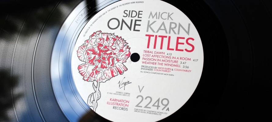 Mick Karn - Titles vinyl (lovewithoutanger.blogspot.com)
