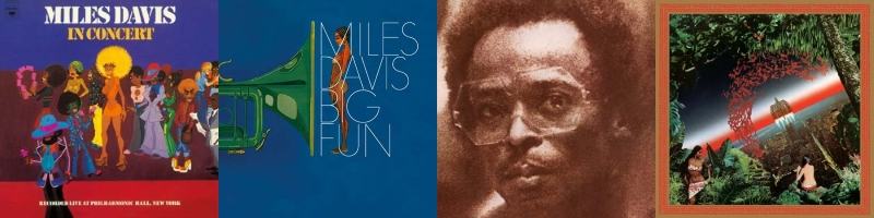 Miles Davis - In Concert - Big Fun - Get Up With It - Agharta (milesdavis.com)