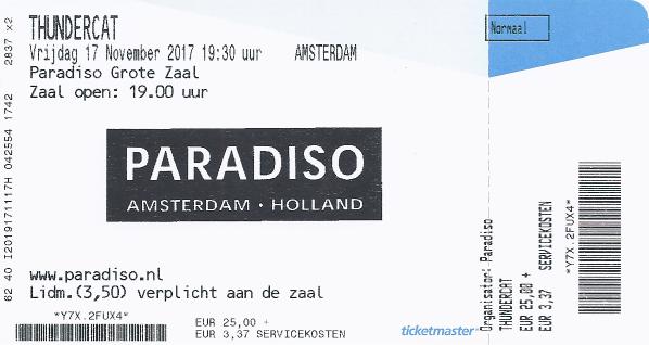 Thundercat, 17-11-2017 (apoplife.nl)