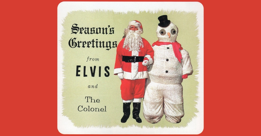 Elvis Presley - White Christmas - CD inlay (discogs.com)