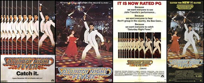 Saturday Night Fever - Movie posters (apoplife.nl)