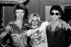 David Bowie, Iggy Pop & Lou Reed 1972 (taschen.com)