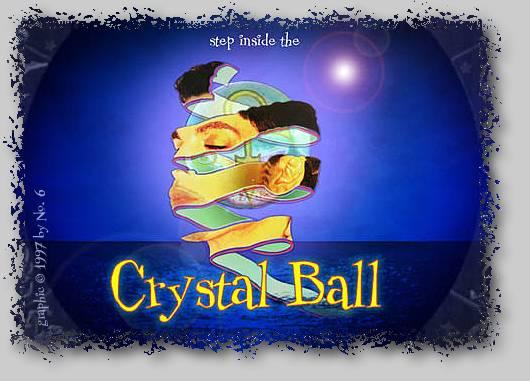 Originele startpagina van Crystal Ball website (crystalballcd.com)