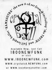 Prince - Crystal Ball - Flyer (prince.org)