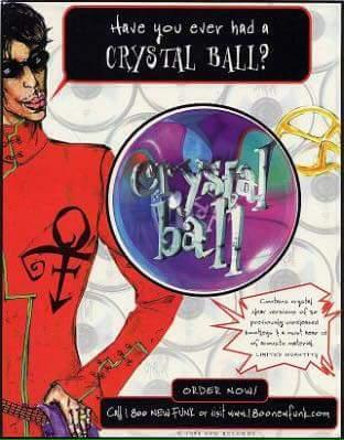 Prince - Crystal Ball - Flyer (facebook.com)