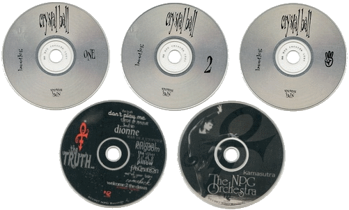Prince - Crystal Ball - Pre-order versie CD's (suruga-ya.jp)