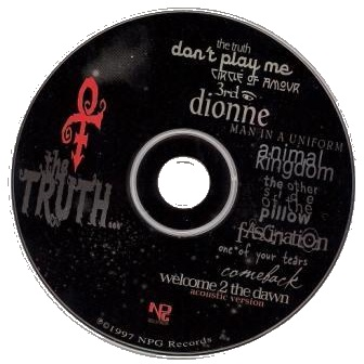 Prince - The Truth CD (lyrics.wikia.com)