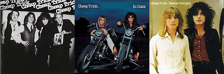 Cheap Trick - Cheap Trick / In Color / Heaven Tonight (amazon.com)